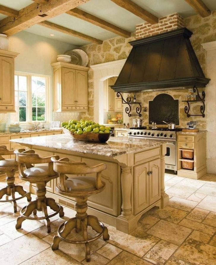 Ways Create French Country Kitchen Interior Design Living Room