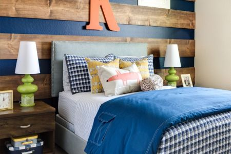 Dare To Be Different  20 Unforgettable Accent Walls Striped Wood Accent Wall