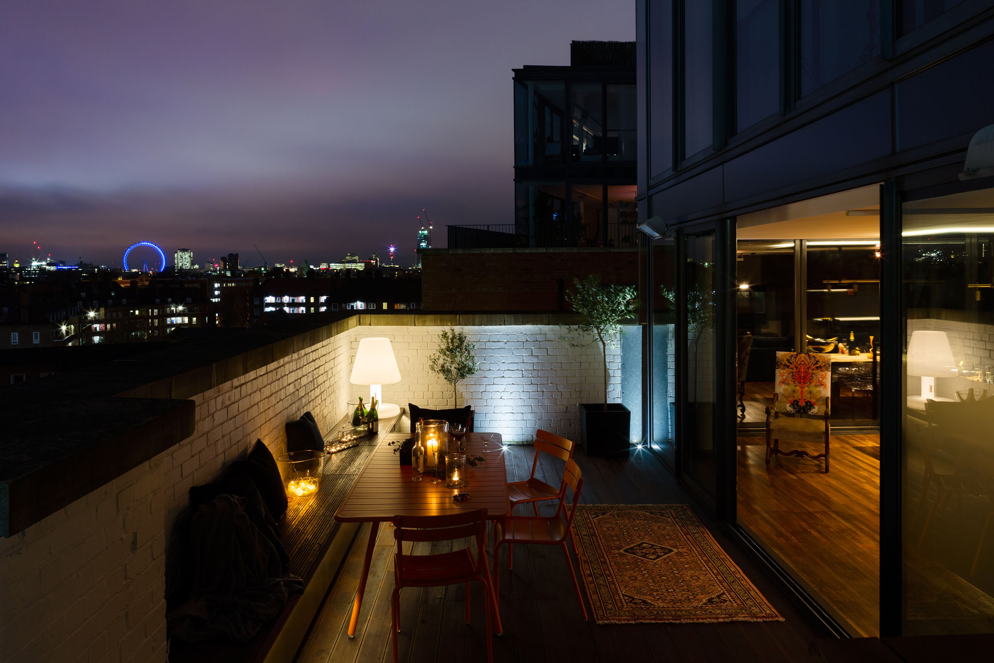 A Penthouse That Celebrates London With A Cutting Edge Design