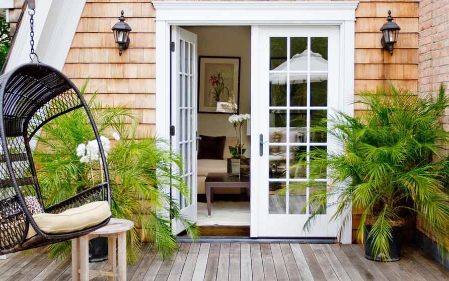 elegance and charm of french doors