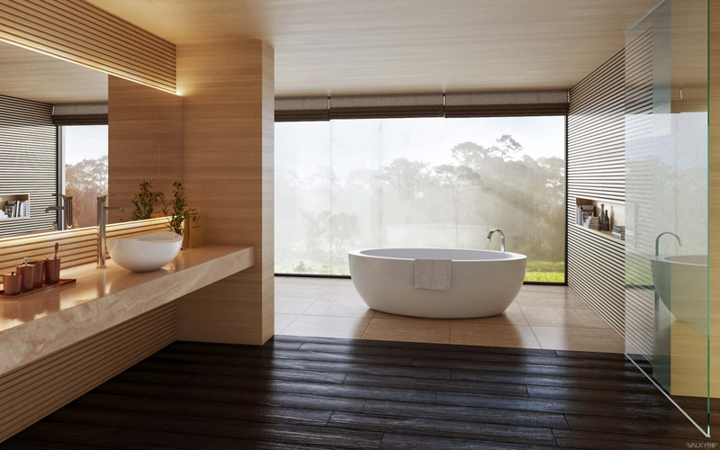 The focal point in your bathroom unifies the entire space