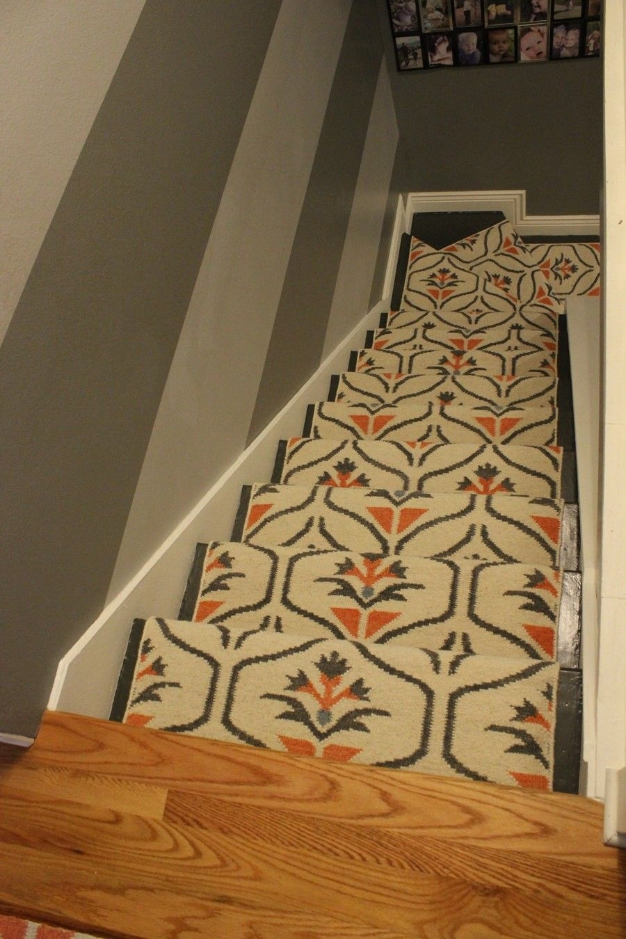 Update Your Staircase How To Remove And Install Carpet On The Stairs   Carpet Down Middle Of Stairs   Stair Rods   Wood   Hardwood   Steps   Laminate Flooring