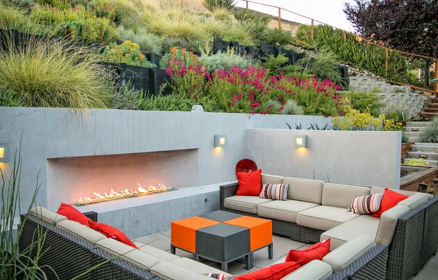 Sunken Designs Let You Explore The Depths Of Style on Garden Entertainment Area Ideas id=96196