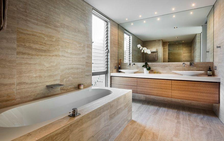 20 Functional & Stylish Bathroom Tile Ideas on Bathroom Tile Designs  id=56072