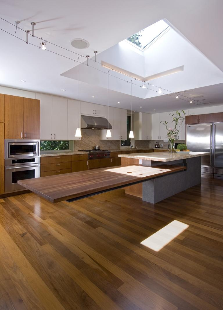 Cantilevered Tables Floating In Modern Luxury Homes on Modern:0Bjn4Cem9Be= Kitchen Counter  id=34656