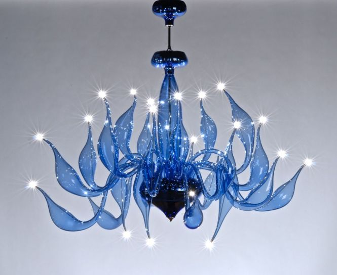 Lu Murano Chandelier Color3