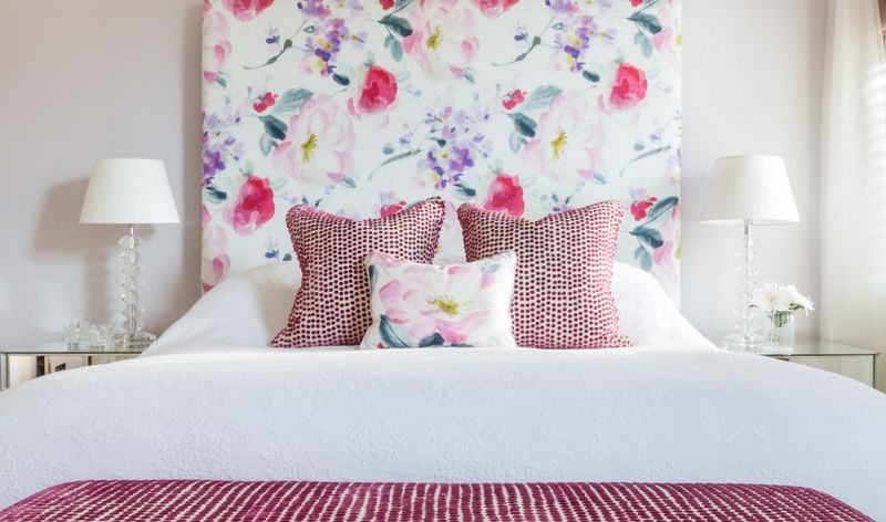 10 Fabric Headboard Ideas for your Bedroom Floral Beauty