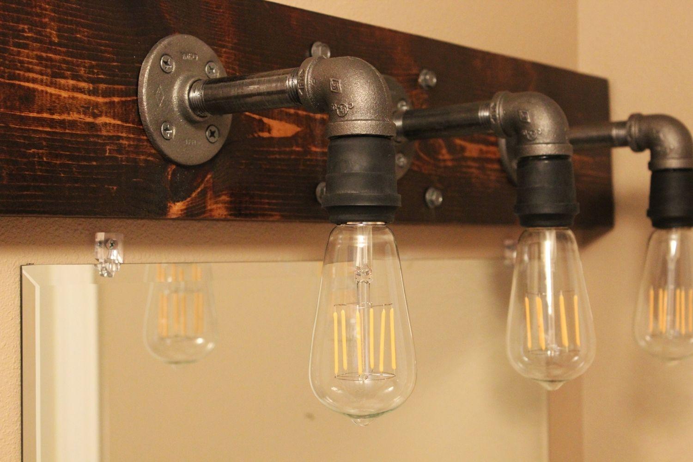 How Paint Bathroom Light Fixtures