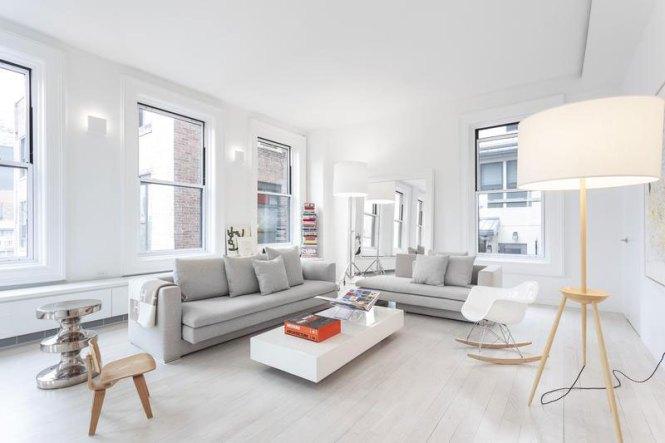 Flatiron Building Apartment Living Room