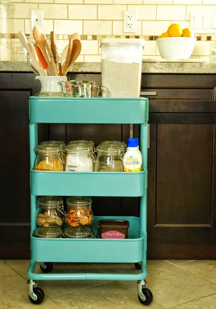 Ikea Bar Cart Spices Storage Home Decorating Trends