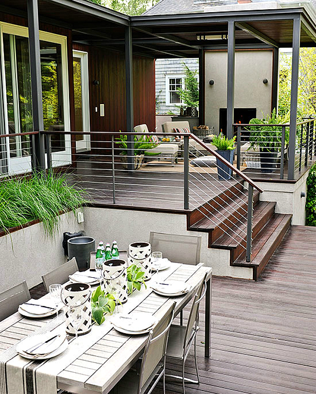 10 modern deck spaces to inspire your summer backyard Modern Patio Deck id=31672