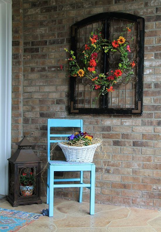 How To Beautify Your House - Outdoor Wall Décor Ideas on Wall Ideas For Yard id=75811