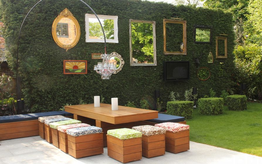 How To Beautify Your House - Outdoor Wall Décor Ideas on Wall Ideas For Yard id=22491