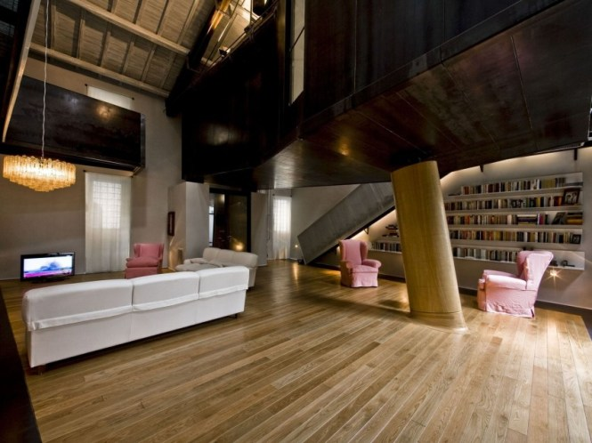 Unconventional Loft Apartment Born From