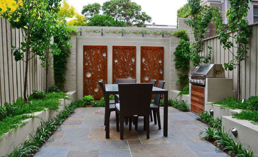 How To Beautify Your House - Outdoor Wall Décor Ideas on Wall Ideas For Yard id=94241