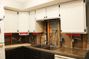 DIY Kitchen Lighting Upgrade: LED UnderCabi Lights & AbovetheSink Light