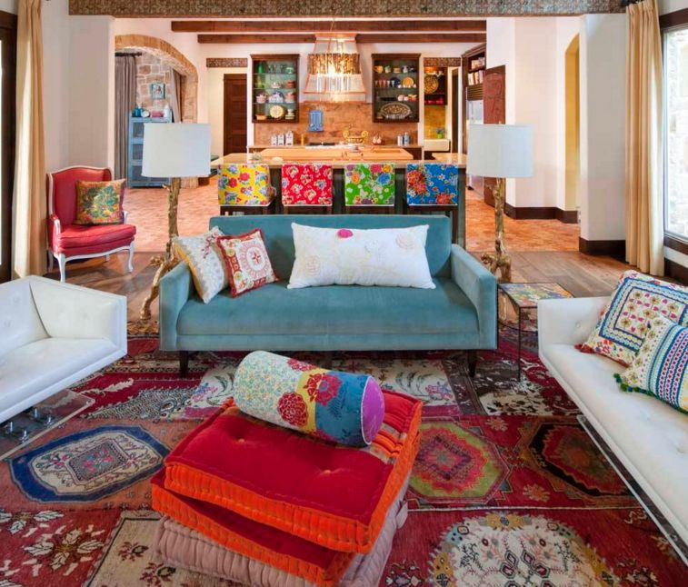 20 Dreamy Boho Room Decor Ideas Color Rich