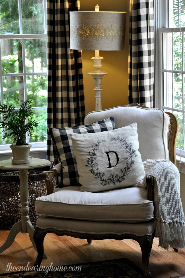 Charming Ideas French Country Decorating Ideas french country reading corner with initial