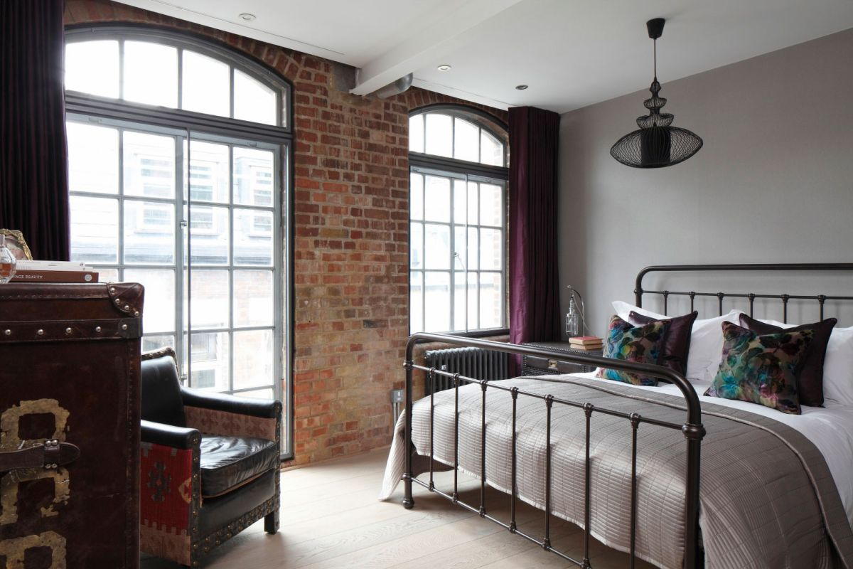 Sophisticated Industrialism Revealed In A London Apartment