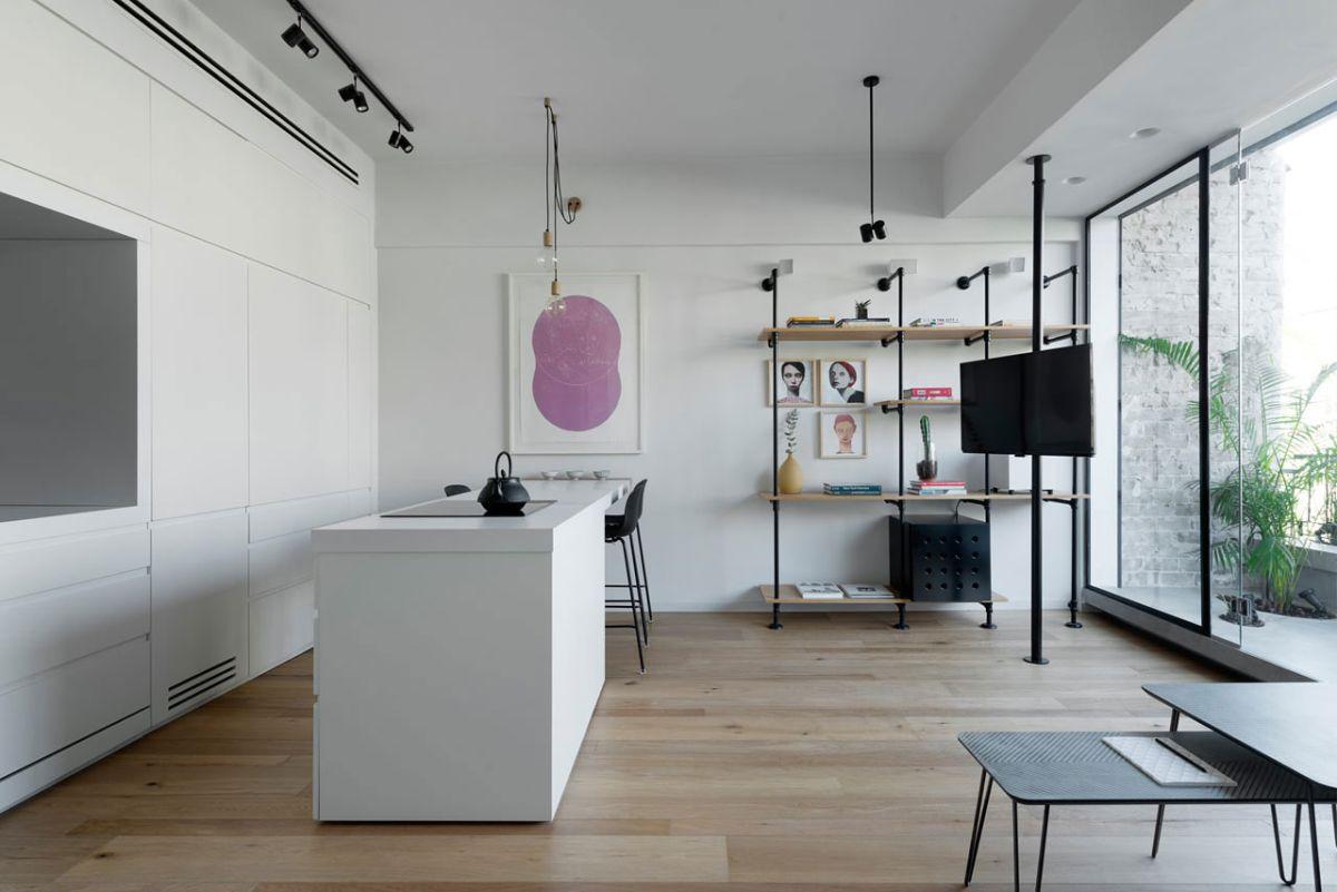 Modern Apartment Brings Japanese Beauty To Tel Aviv