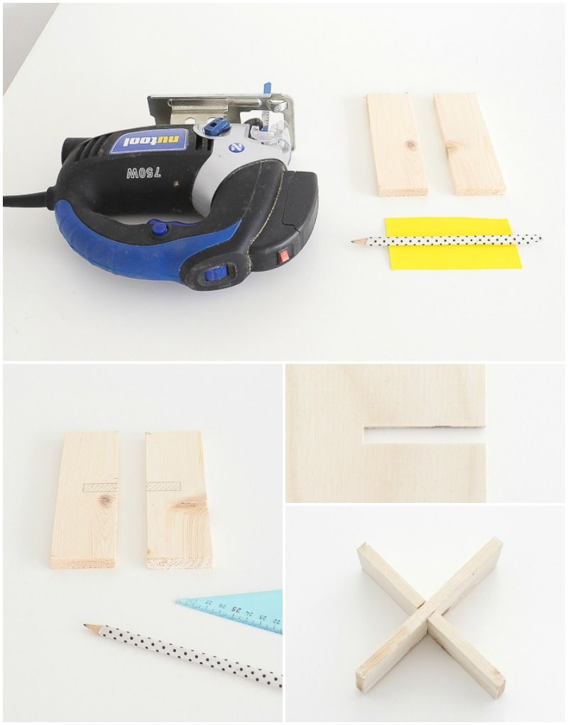 DIY Handy Wooden Stand Materials and Steps