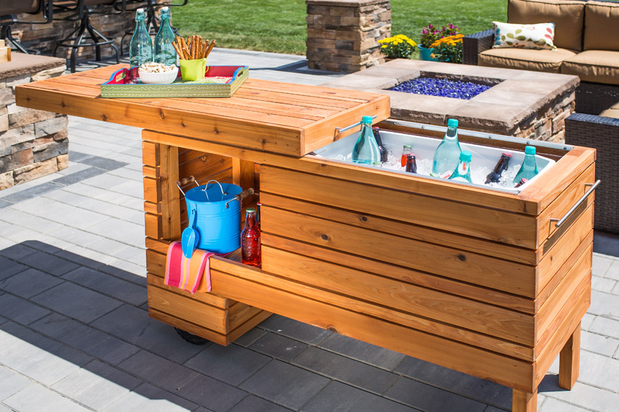 Get Set for Summer With These 10 Grill DIYs on Patio Grill Station  id=75853