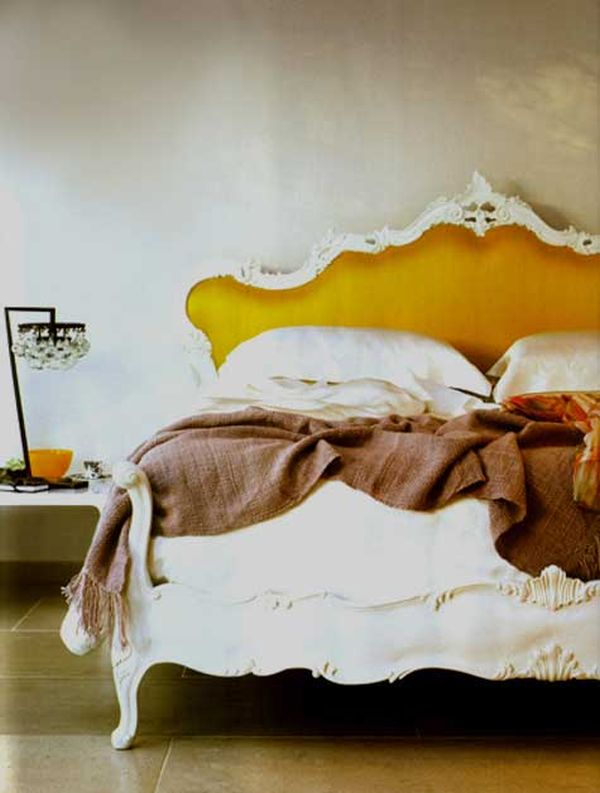 Delicate Bedroom With One of these 40 Feminine Headboards Victorian Mustard Headboard