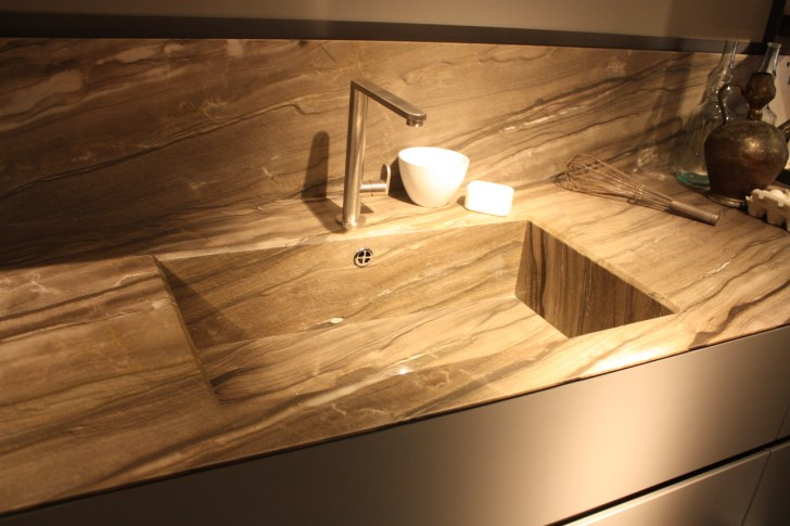 New Kitchen Sink Styles Showcased Eurocucina