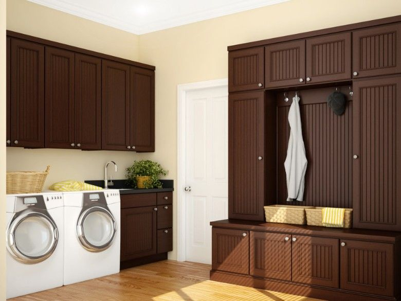 40 Laundry Room Cabinets To Make This House Chore So Much ... on Laundry Cabinets  id=66275