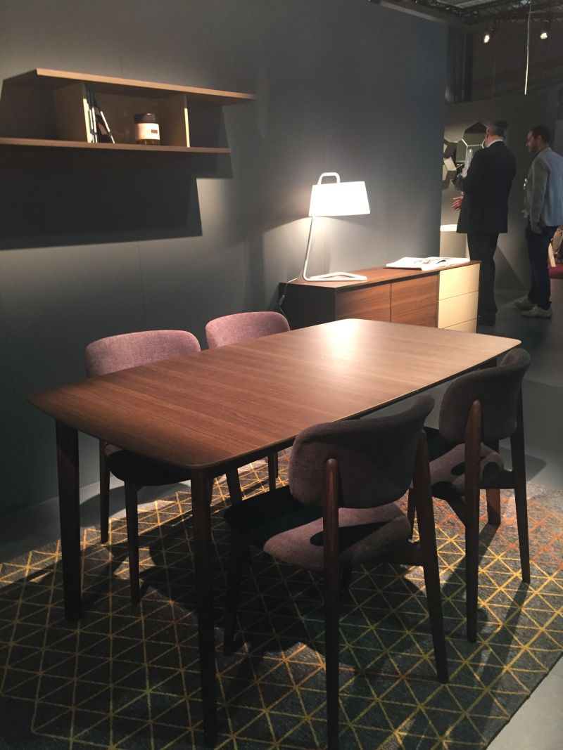 Calligaris dining room with chairs