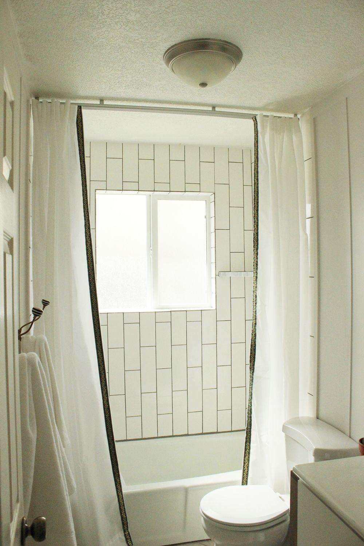 شاحنة ثقيلة المفوضية نفخ suspended shower curtain track