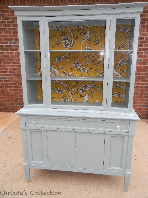 styling your china cabinet