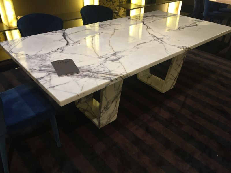 Lenzi marble dining table