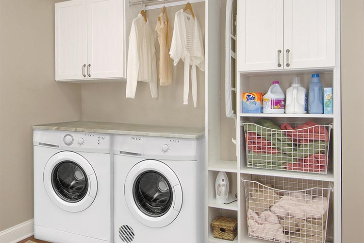 40 Laundry Room Cabinets To Make This House Chore So Much ... on Laundry Cabinets  id=49594