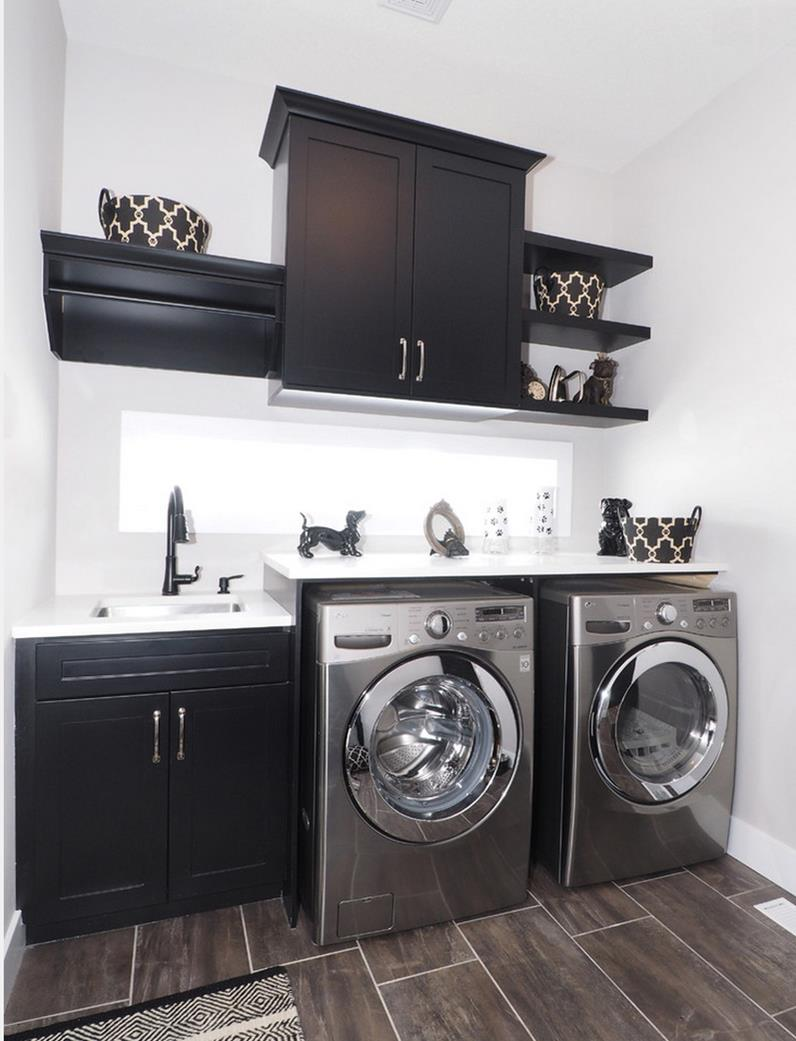40 Laundry Room Cabinets To Make This House Chore So Much ... on Laundry Room Cabinets  id=29674