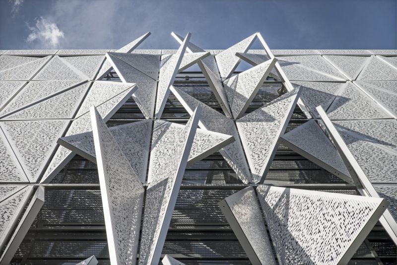 University of Southern Denmark (SDU) in Kolding is designed by Henning Larsen Architects.