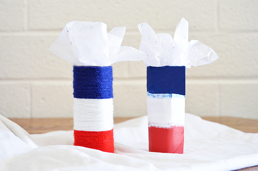 Centerpieces for Patriotic day