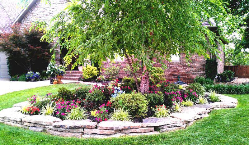 Small Design Front Yard Landscape