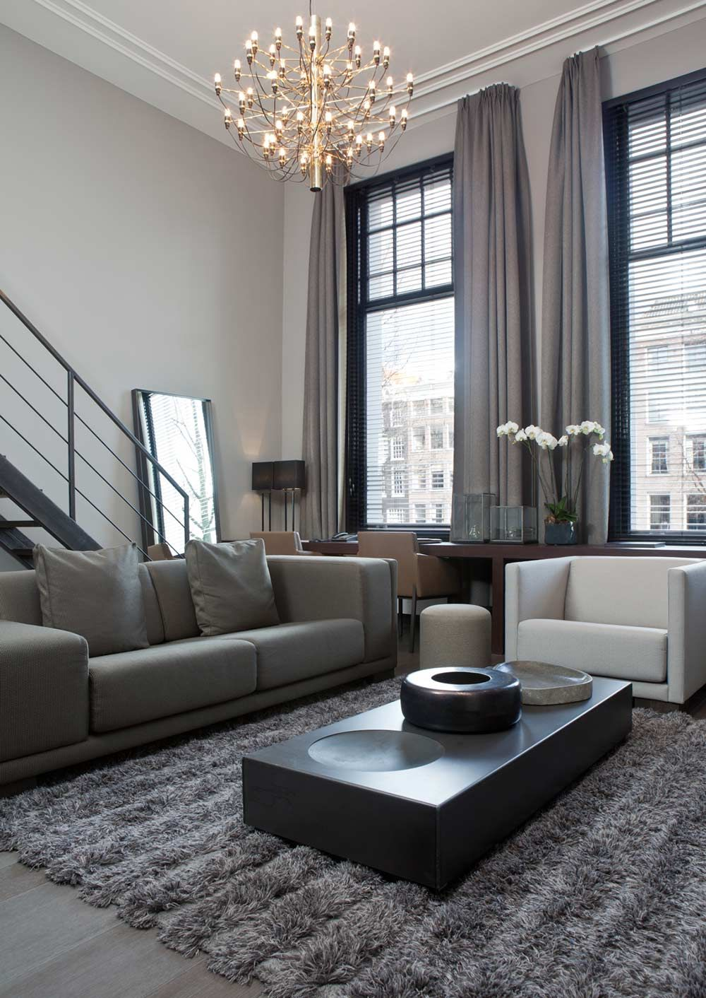 Curtains For Grey Living Room | Zion Modern House on Living Room Drapes Ideas  id=86407