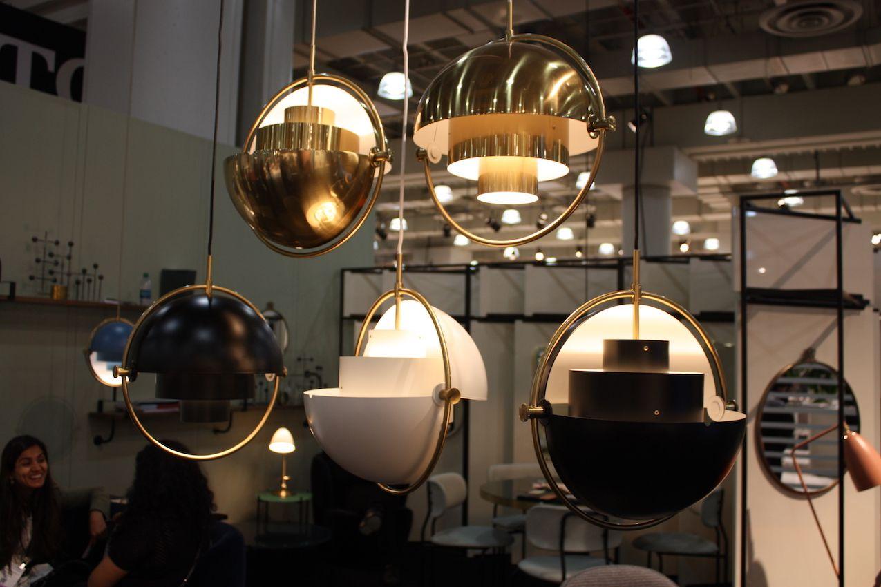 Modern Lighting Fixtures At Icff Combine Latest Technology