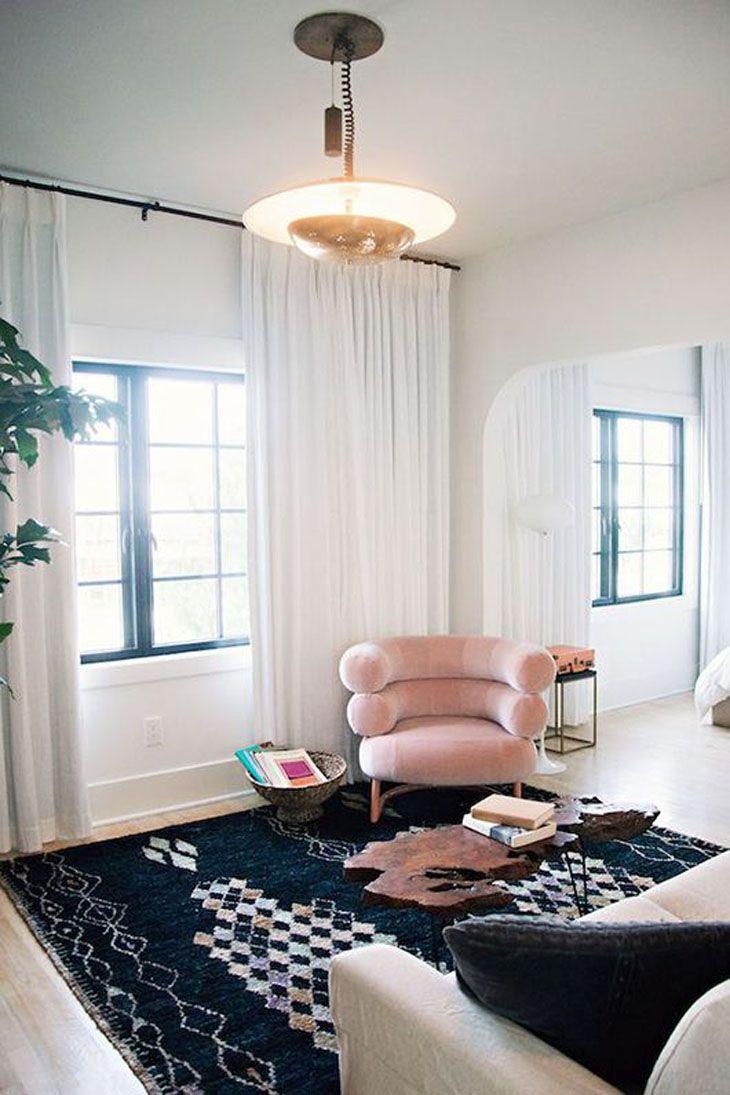 Rèm cửa màu trắng hiện đại cho cuộc sống