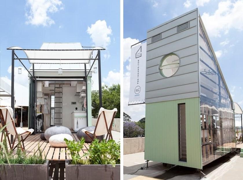 POD-Idladla tiny house exterior