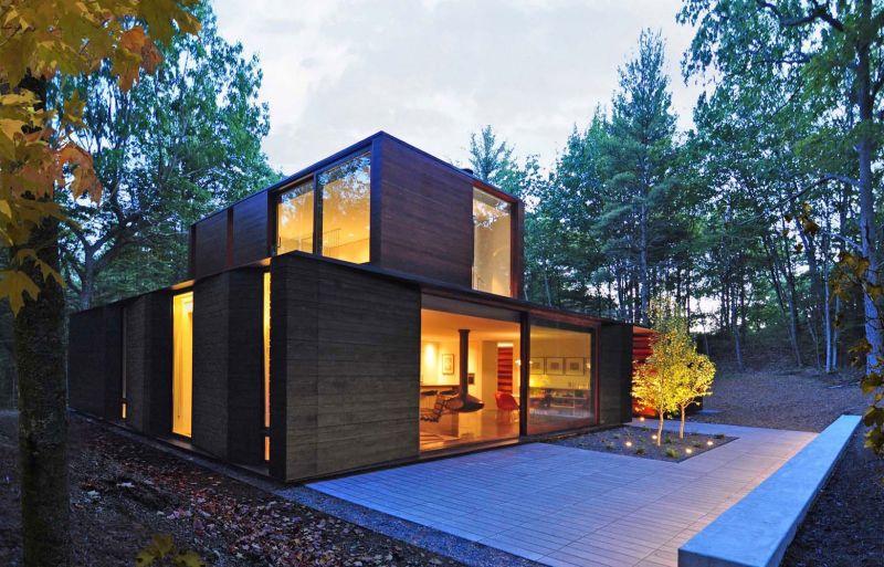 Pleated House geometric design