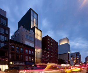 Sperone Westwater Gallery Dynamic Light Facade