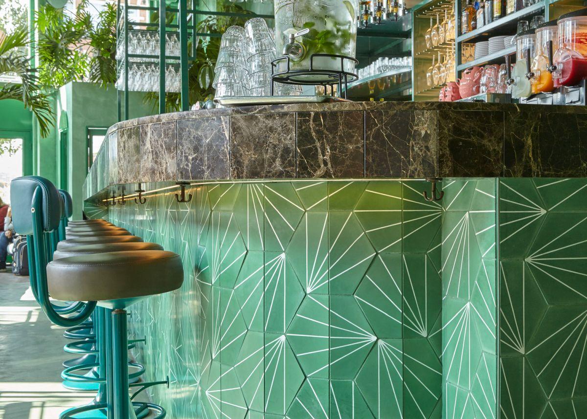 Bar Botanique Cafe Tropique Marble