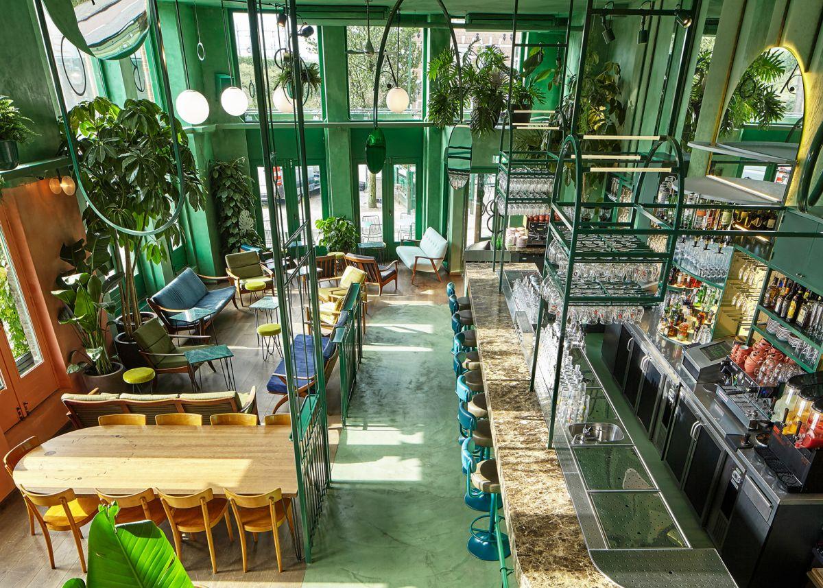 Bar Botanique Cafe Tropique Top Level