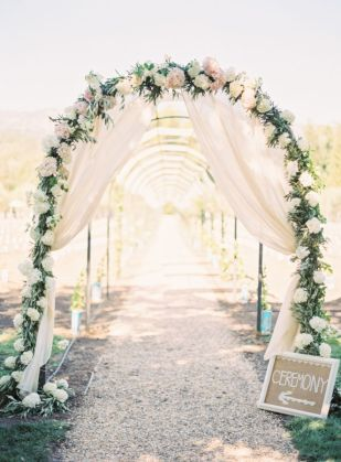 Bohemian Wedding Arches Turn Any space Into A Romantic Enclave Capa Valley California Wedding Arch tunel