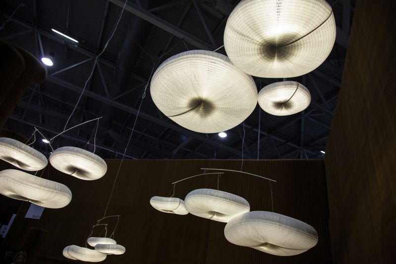 Cloud softlight pendant lighting from Molo