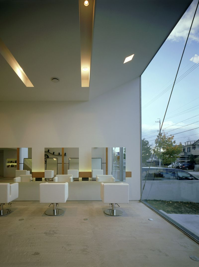Coo hair Eclat atelier large window
