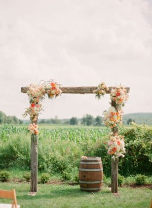 Bohemian Wedding Arches Turn Any space Into A Romantic Enclave Decor for a rustic farm wedding arch
